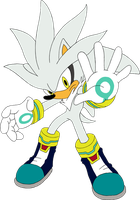 Silver the Hedgehog by equilibrik