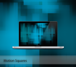 Motion Squares Wallpaper by Vincee095