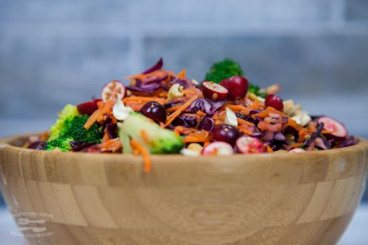 Paleo red cabbage salad_2 by KLutskaya
