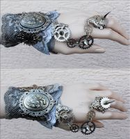 Anatomical heart cuff by Pinkabsinthe