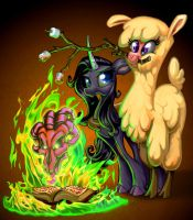 Hellfire S'mores by harwicks-art