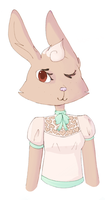 fancy bun by Mousiarty