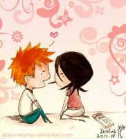 Ichiruki Week Day 2- Chocolate by Dodus-Taichou