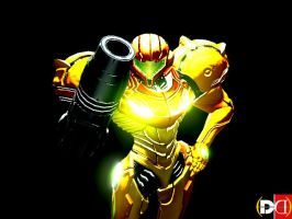 Samus Suited Up(CloseUp) by DareDesignStudio