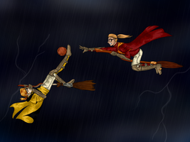 HA: Quidditch Game 2 by dreaminpng
