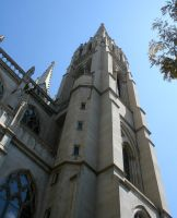 Denver Cathedral Tower 69 by Falln-Stock