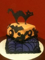 Halloween Cake by simplysweets