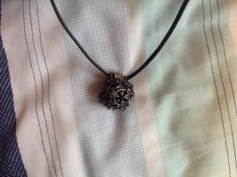 D20 Necklace by Nyxelian