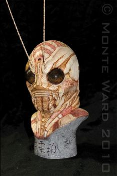 Manhopper 1:2 resin bust 2 by dreggs88