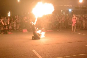 Ignite the Night Fire/Food Fest, Flaming Fire Ball by Miss-Tbones