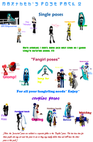 .::HiMe Pose Pack 2::. by TwilightMarth