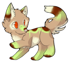 CLOSED - Canine Adoptable 119 by LeaAdoptables