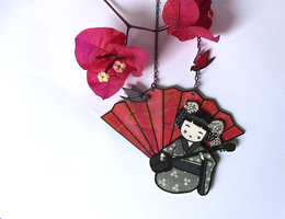 Memoirs of a Geisha necklace by Ketchupize