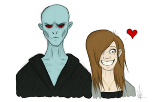 Voldy Love. :3 by NaomiFuller