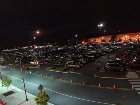 Parking lot by thatbrownboy