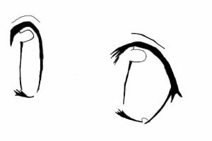 Eye line-art by Flame-Essence