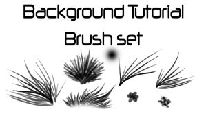 Brushes from the background tutorial by KFCemployee