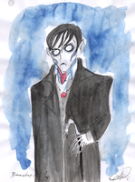 Vampire Barnabas Collins by DemonCartoonist
