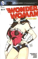 New 52 Wonder Woman by Elvatron