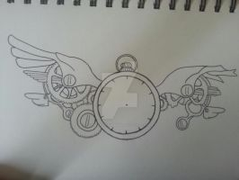 Time Flys (unfinished) by HeadlessZombie94