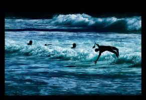 Game with waves by Ciril