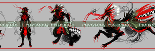 RAVENOUS RENEGADE adopt [CLOSED] by ensoul