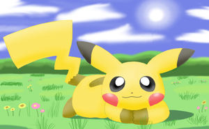 Is a cute pika by pichu90