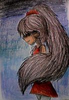The Sadness consumes her... by Samandra-Chan
