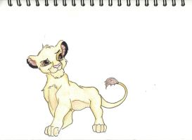 Simba by TheFrozenTiger