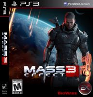 Mass Effect 3 - Male Shepard by MattBizzle2k10