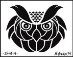 Owl Design by Insanemoe