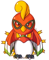 Ho-oh by bukin