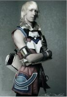 Star Ocean IV- Edge cosplay by Dantedart