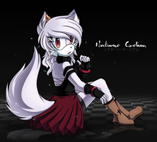 Nocturne Caelium - Collab with ShadowSinty by Chibi-Nuffie