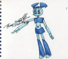 XJ9 painted with copic by Dice-K