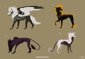 Canine Adopts 8 [Point Option Added!] by Adopt-Monstar