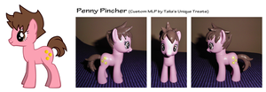 CUSTOM MLP: Penny Pincher OC Pony by UniqueTreats