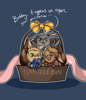 Team Free Bun by FrostPuppy96