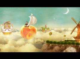 James And Giant Peach by anugerah-ilahi
