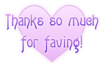 Thanks so much for faving ~ heart 1 FREESTUFF by AStoKo