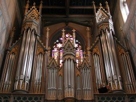 Gorgeous pipe organ by traveling-Bard