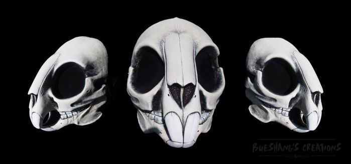 Rodent Skull Mask - Theatrical Paint by Bueshang