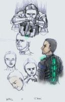 dead space sketch dump3 by LunaticStar