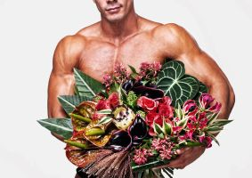Muscles and flowers by vishstudio