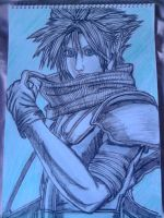 Cloud Strife from Crisis Core by Laineyfantasy