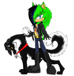 Scourge157 the hedgehog by Scourge157