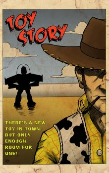 Toy Story Poster by TroyHoover