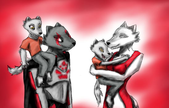 The Pack (request) by Toa-Niretta