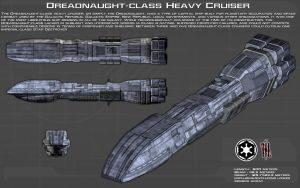 Dreadnaught-class Heavy Cruiser ortho [New] by unusualsuspex