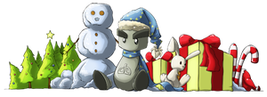 December Fella Banner by NikiVandermosten